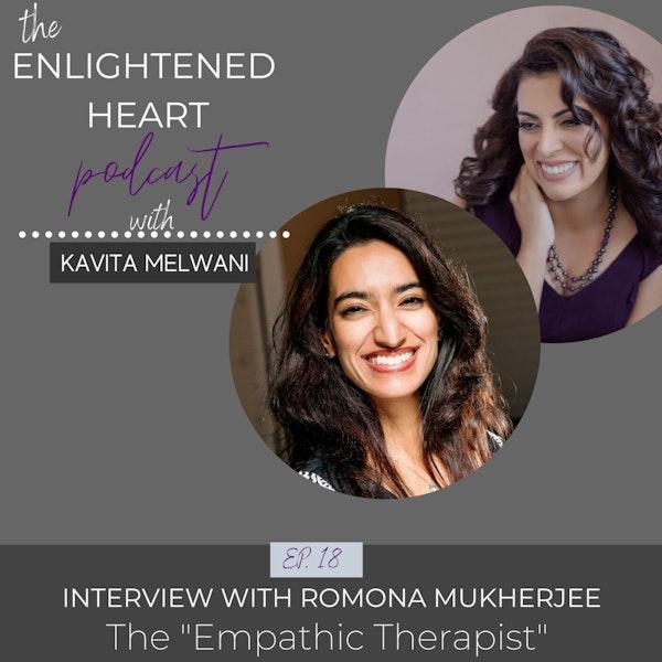 Empathic Therapist - Interview with Romona Mukherjee Image