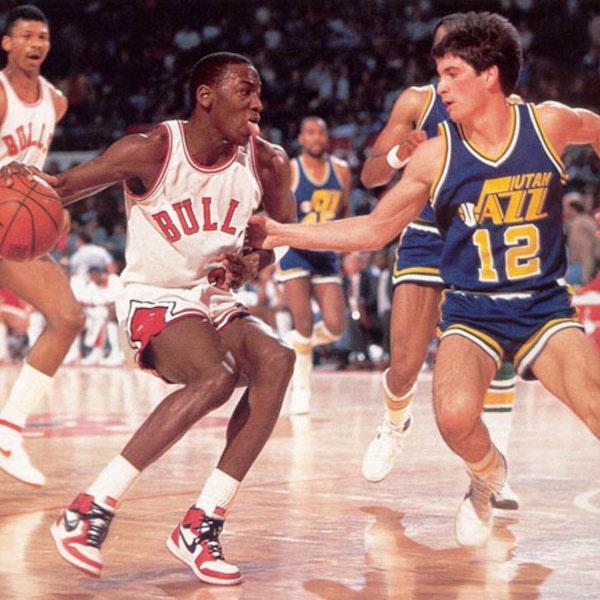 NB85-22: Michael Jordan's rookie NBA season - Bulls at Celtics (Mar 6), vs Clippers (Mar 8), vs Jazz (Mar 9) - 1985 Image