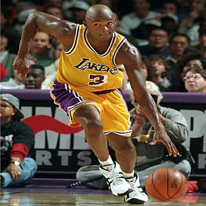 Sedale Threatt: 14-year NBA veteran and L.A. Lakers star - AIR012