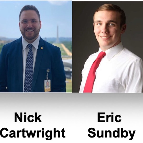 Episode 14: The Space Force Association: A Launch Pad for Space Policy with Nick Cartwright and Eric Sundby Image