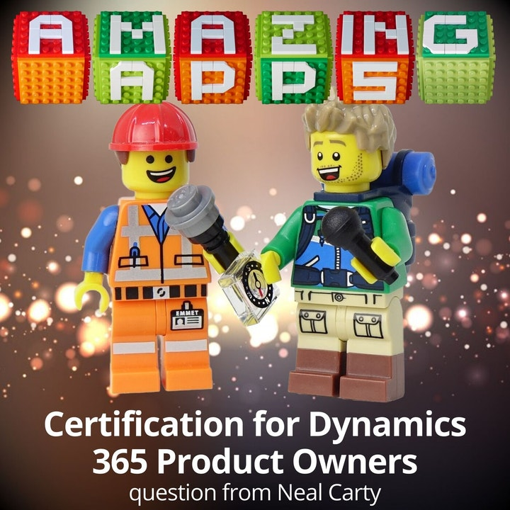 Certification for Dynamics 365 Product Owners