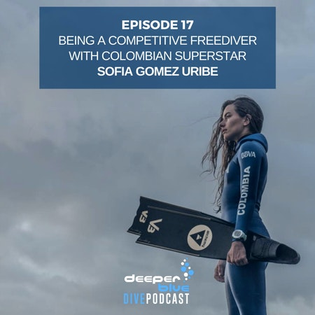 """Colombian Freediving Superstar Sofia Gomez on Rediscovering Her Love of Competition, and David Attenborough's """"A Life On Our Planet"""" Documentary Image"""