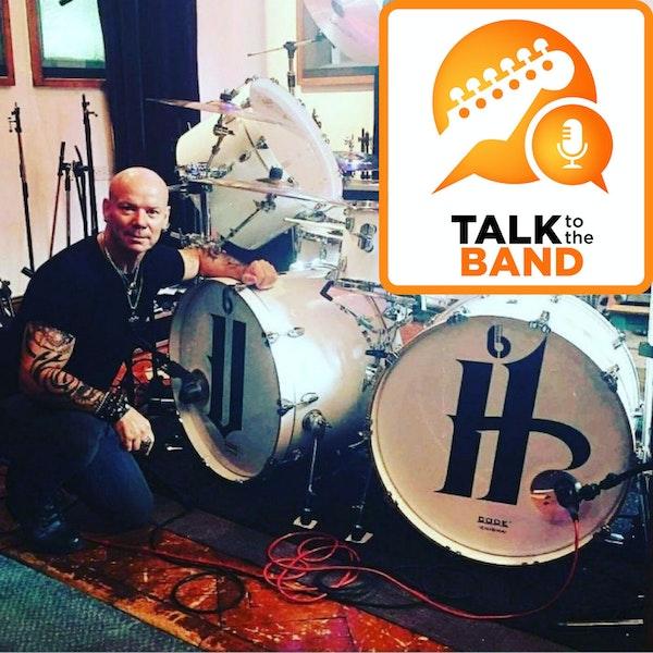 Russell Gilbrook - Uriah Heep Drummer Image