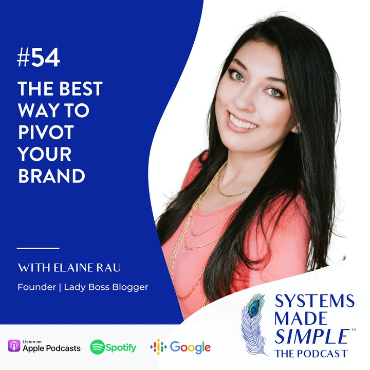 The Best Way to Pivot Your Brand with Elaine Rau
