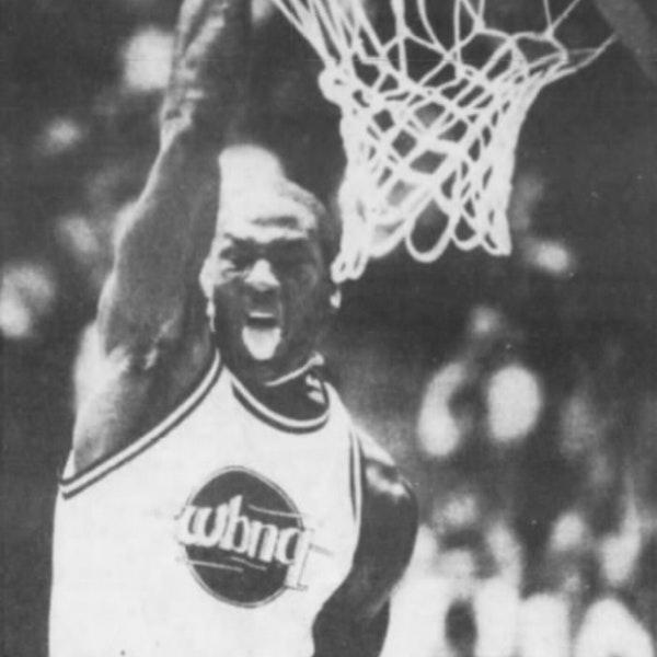 Michael Jordan enjoys Cheap Shots, scores 71 points (Sep 14, 1985) - BTG-4 Image