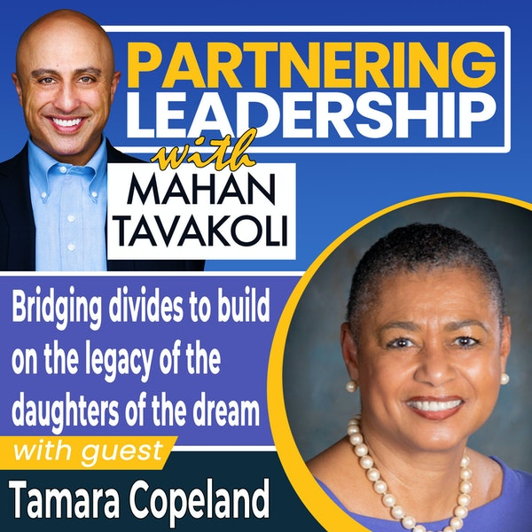 Bridging divides to build on the legacy of the daughters of the dream with Tamara Copeland | Greater Washington DC DMV Changemaker Image