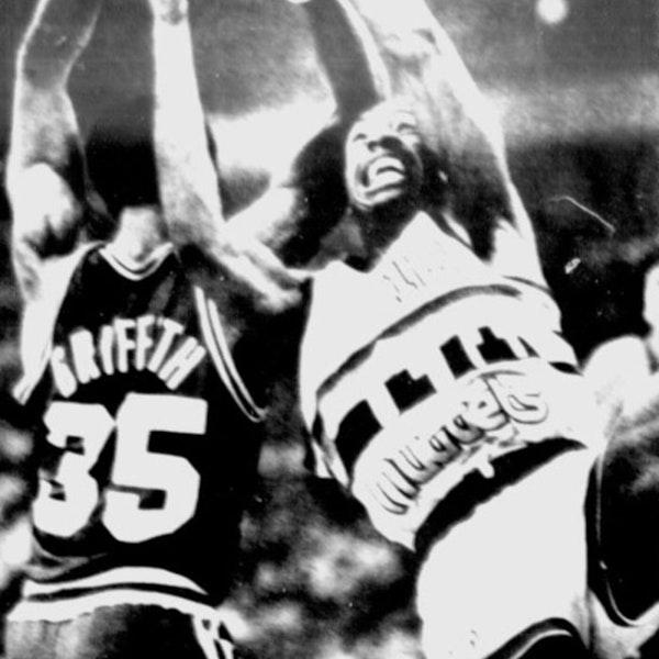 Michael Jordan's rookie NBA season - 1985 Playoffs (Round 2) - NB85-27 Image