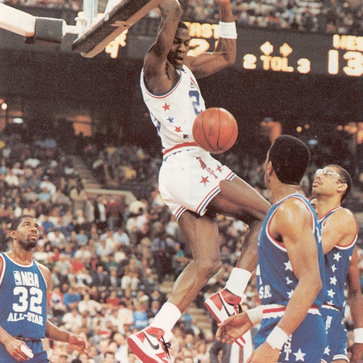 Michael Jordan's rookie NBA season - 1985 All-Star Game (February 10) - NB85-18