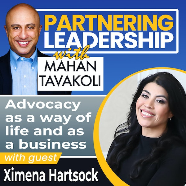 Advocacy as a way of life and as a business with Ximena Hartsock | Changemaker Image
