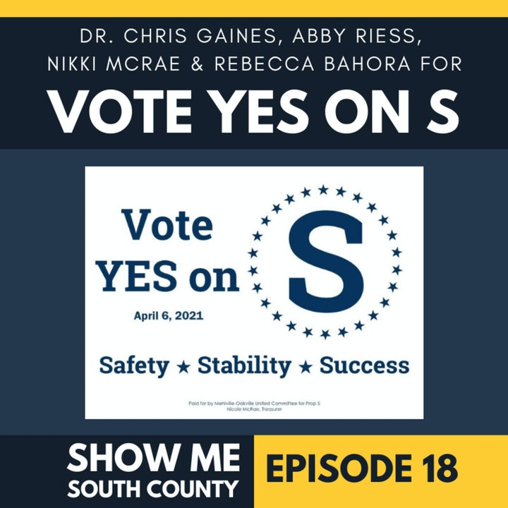 Proposition S: Safe Schools, Safe Kids with Dr. Chris Gaines, Abby Riess, Nikki McRae & Rebecca Bahora