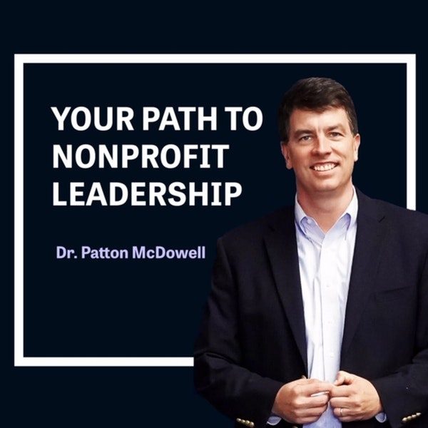 111: The Importance of Strategic Visioning as a Nonprofit Leader (Chris Jackson) Image