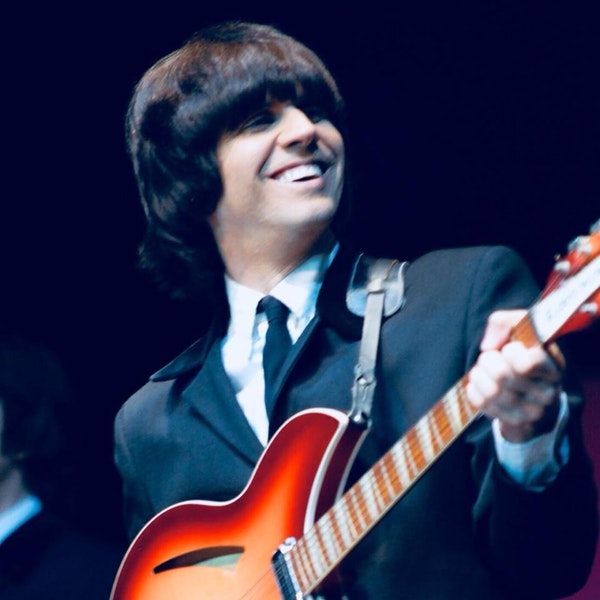 Marty Scott, George Harrison Tribute Artist and Band Leader of the Liverpool Legends, Joins the Club Image