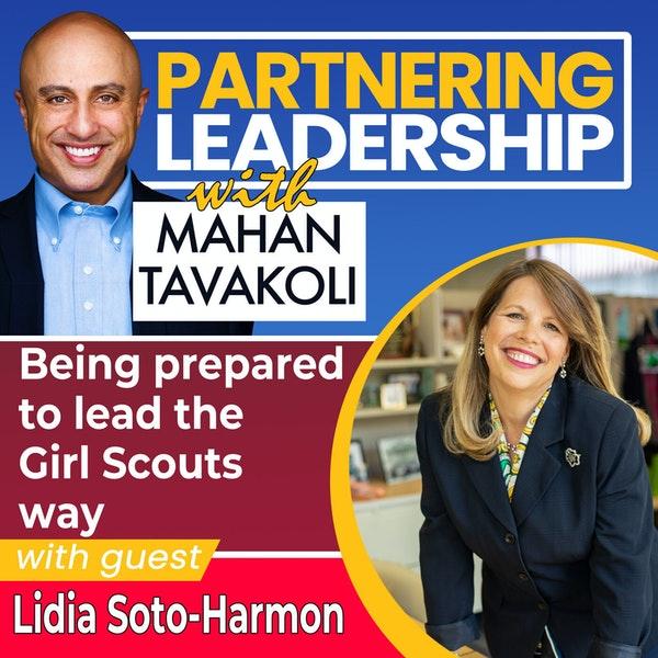 Being prepared to lead the Girl Scouts way with Lidia Soto-Harmon | Changemaker Image