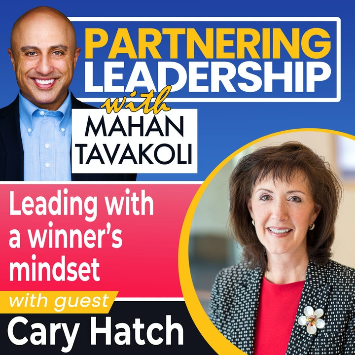 Leading with a winner's mindset with Cary Hatch   Greater Washington DC DMV Changemaker