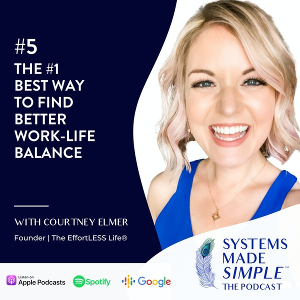 The #1 Best Way to Find Better Work-Life Balance Image