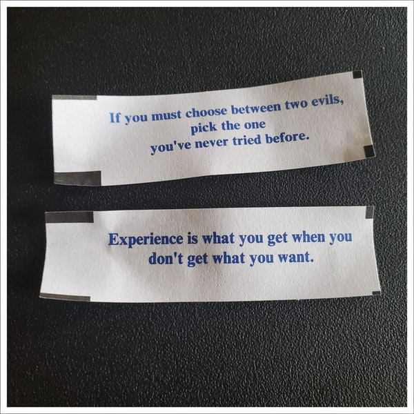 006 - Fortune Cookies From HELL! Image