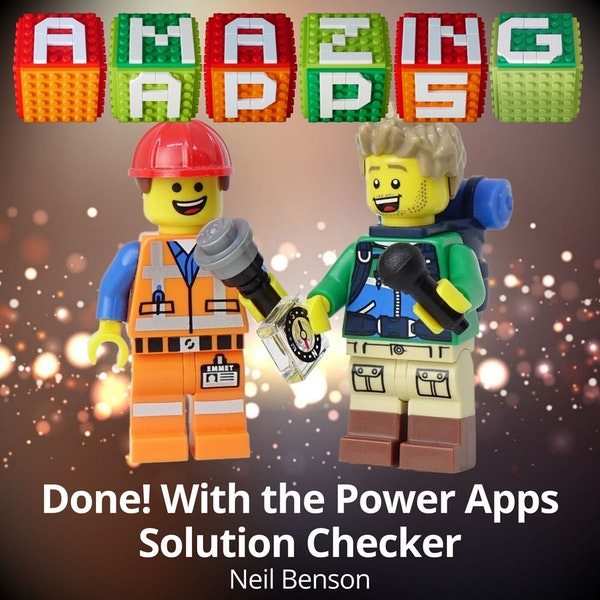 Done! With the Power Apps Solution Checker