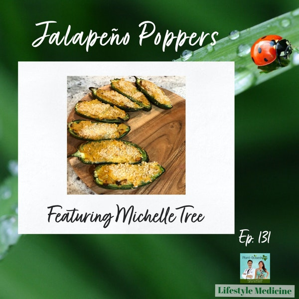 131: Jalapeno Poppers with Michelle Tree of Plant Based Living Winnipeg | Cook With Maya Image