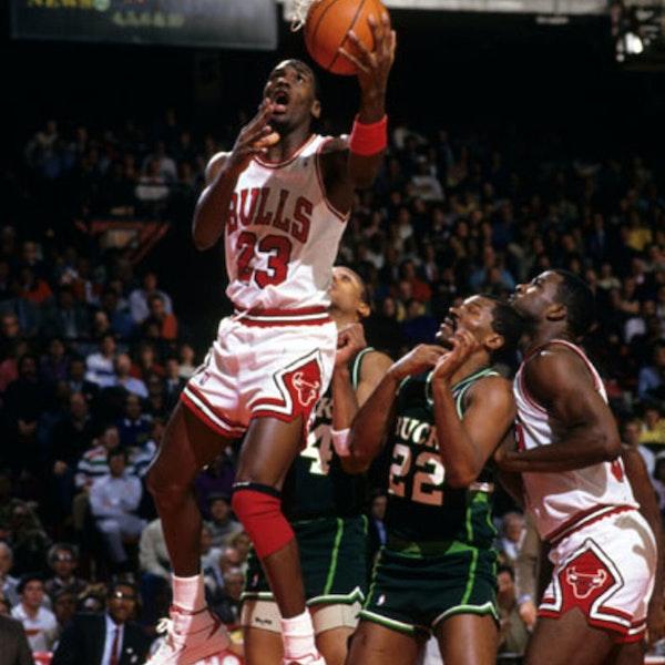 Michael Jordan's third NBA season - February 14 through 28, 1987 - NB87-9 Image