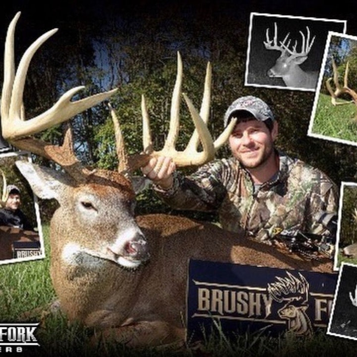 Big bucks at Brushy Fork Outfitters