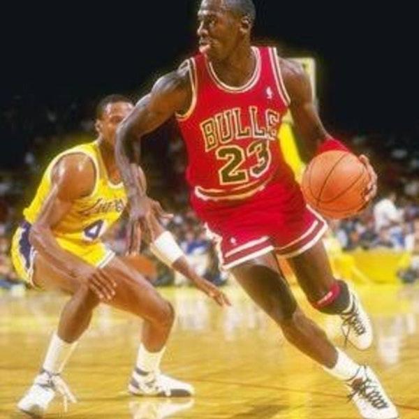 Michael Jordan's third NBA season - November 16 through 30, 1986 - NB87-3 Image