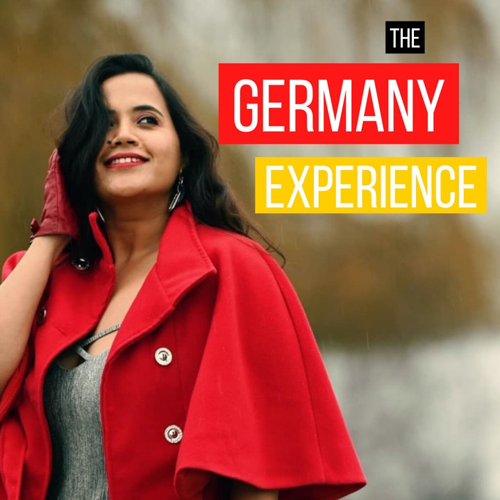 """""""Germany chose me"""" (Sneha from India)"""