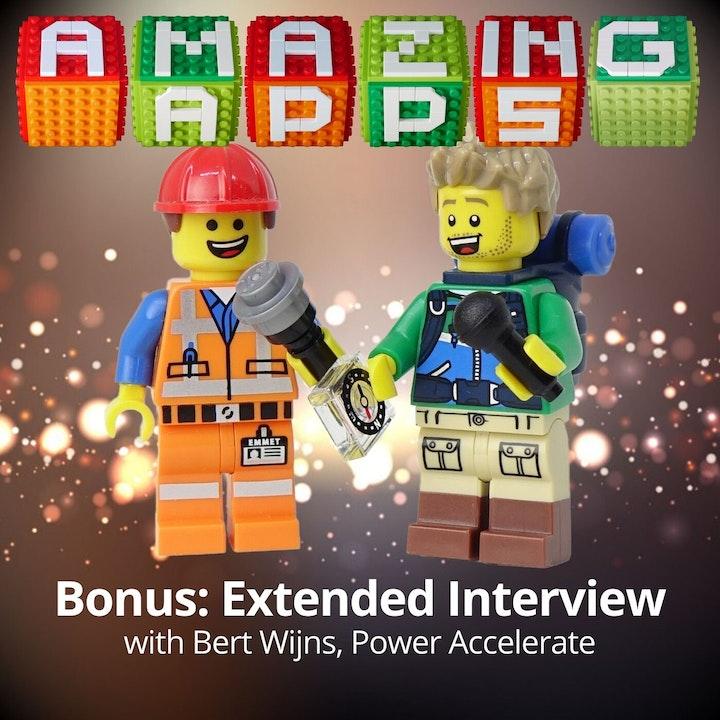 Bonus: Extended Interview with Bert Wijns, Power Accelerate