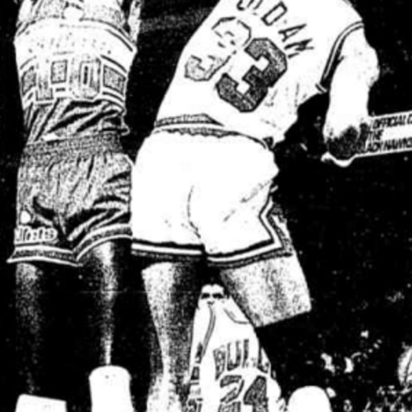 Michael Jordan's second NBA season - December 9 through 23, 1985 - NB86-6 Image