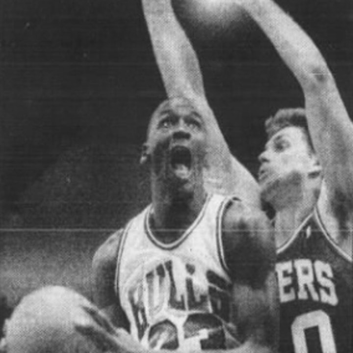 Michael Jordan's fourth NBA season - November 7 through November 20, 1987 - NB88-3