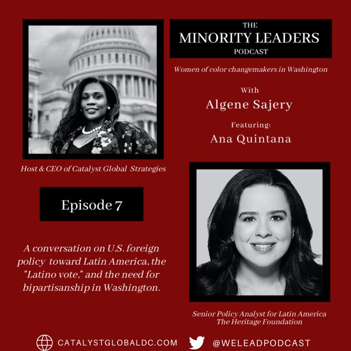 A Conversation with Ana Rosa Quintana, Senior Policy Analyst for Latin America and the Western Hemisphere, Heritage Foundation