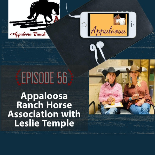 Appaloosa Ranch Horse Association with Leslie Temple Image