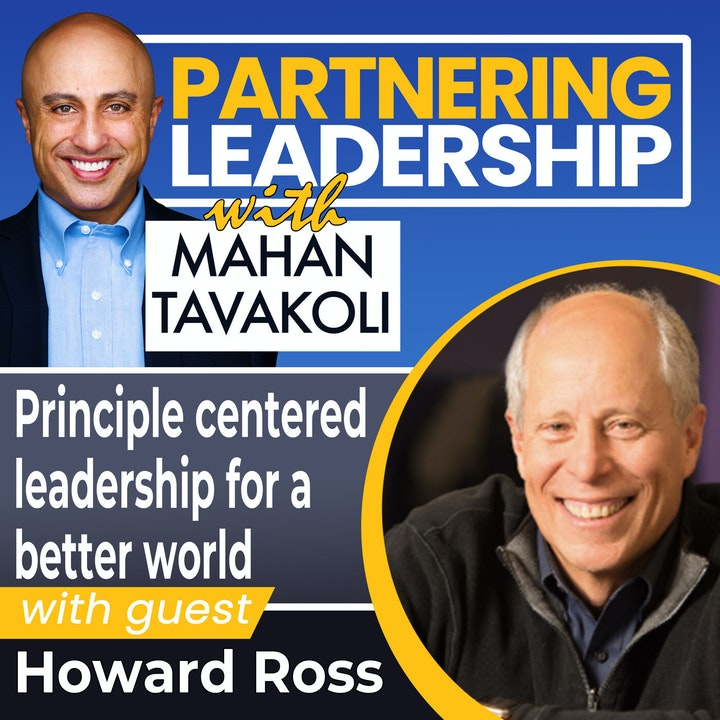 Principle centered leadership for a better world with Howard Ross | Greater Washington DC DMV Changemaker