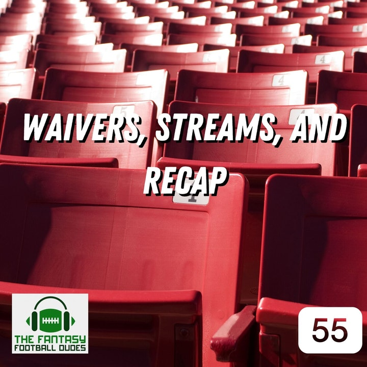 Week 4 Dudes & Duds + Waiver adds + Recap & News