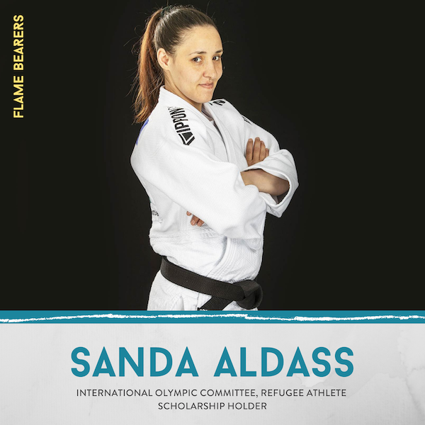 Sanda Aldass (IOC Refugee Team): Judo & the Refugee Experience Image
