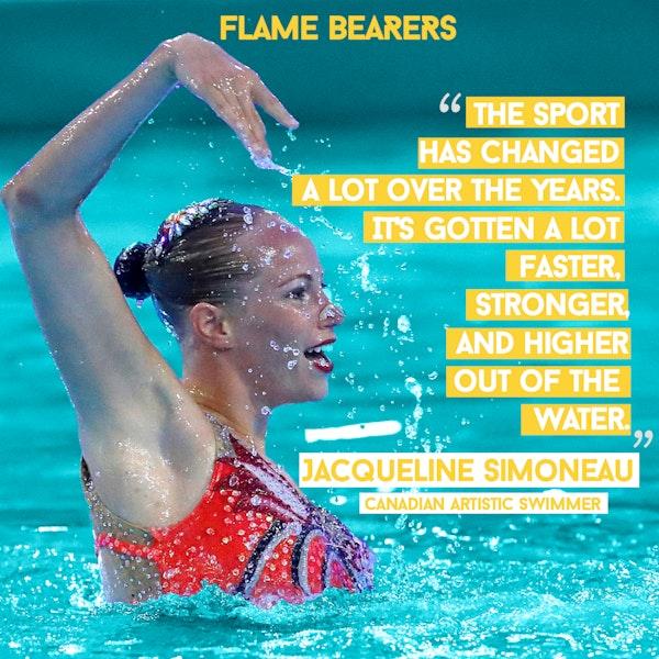 Jacqueline Simoneau (Canada): Artistic Swimming, Family & Friends Image