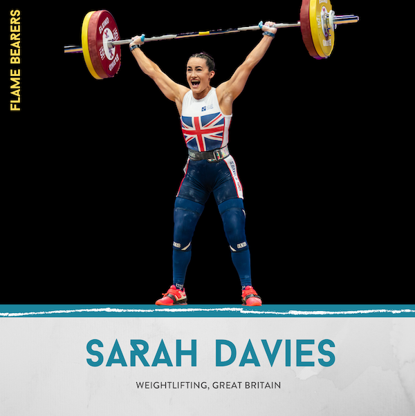 Sarah Davies (Great Britain): The Barbell Queen Defying Convention Image