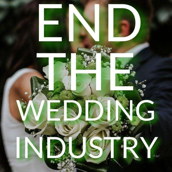 End The Wedding Industry Image