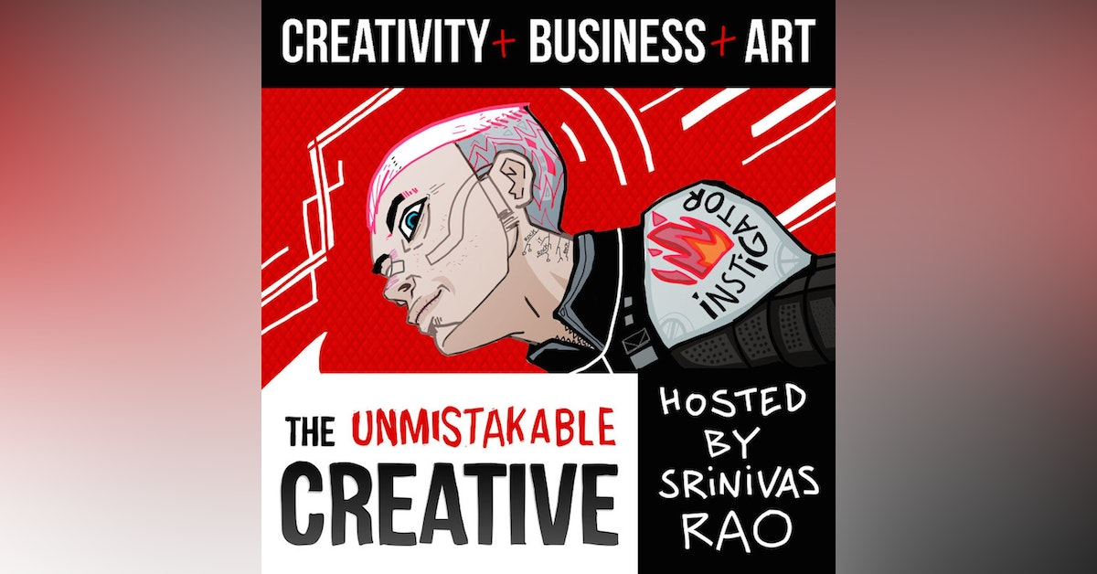 The Unmistakable Creative Podcast Newsletter Signup