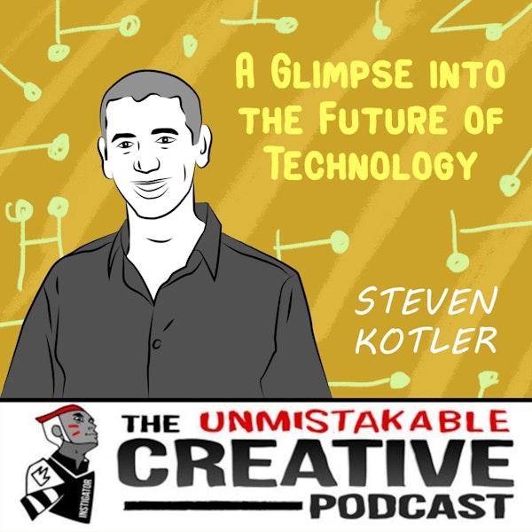 Listener Favorites: Steven Kotler | A Glimpse into the Future of Technology Image