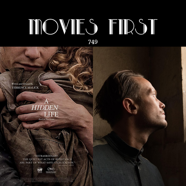 749: A Hidden Life (Biography, Drama, Romance) (the @MoviesFirst review)