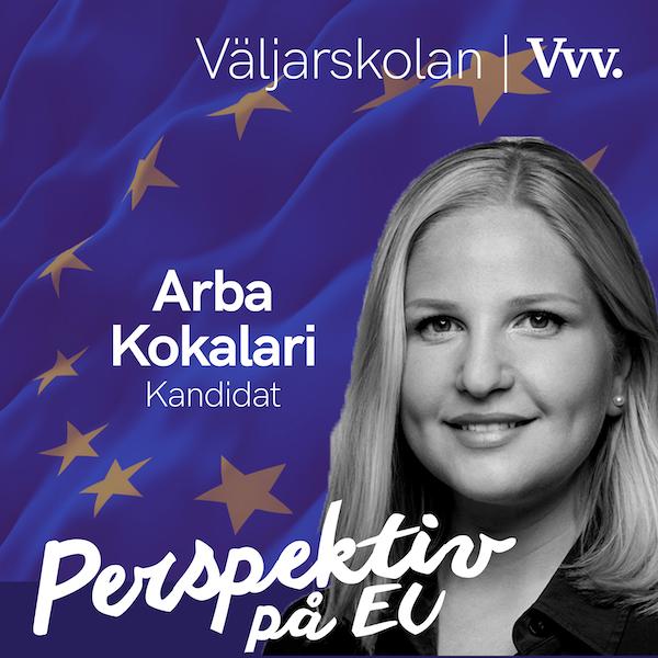 15. [Valspecial] Om poängen med EU och fredsidén som blev en union - med kandidaten Arba Kokalari Image