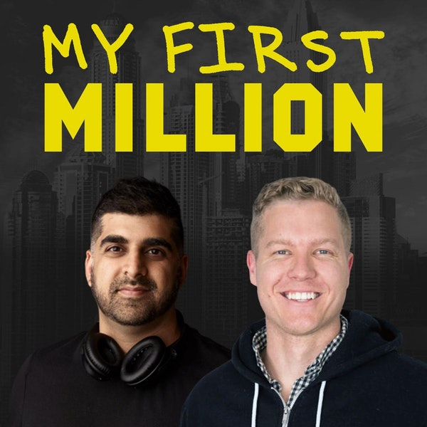 #144 - Shaan's Giving Away A Company, A Mysterious, Anonymous New App and The Most Gimmicky Marketing Thing The Guys Have Done Image