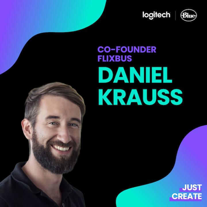 Episode image for Daniel Krauss, FlixBus | Just Create