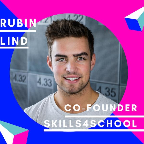Rubin Lind, Skills4School | Gründernachwuchs Image