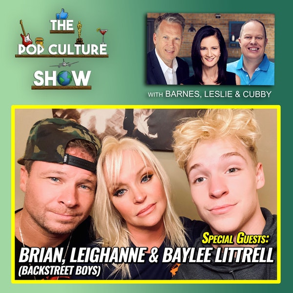 Brian Littrell (Backstreet Boys), Baylee & Leighanne Littrell + Latest Celebrity Sleaze Image