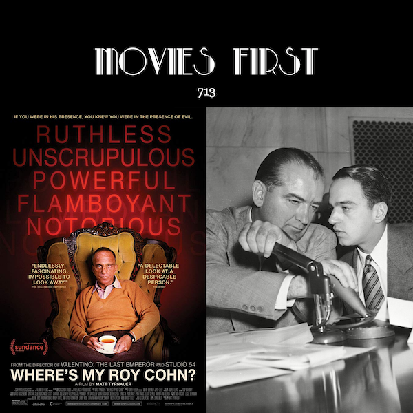 713: Where's My Roy Cohn? (documentary) (the @MoviesFirst review)