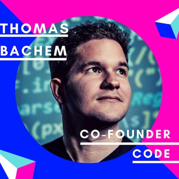 Thomas Bachem, CODE University of Applied Sciences | Best of Jungunternehmer Podcast Image