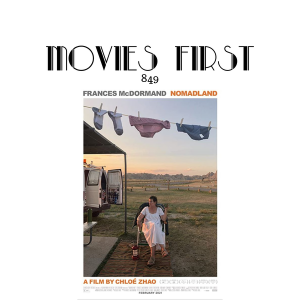 Nomadland (Drama) (the @MoviesFirst review) Image