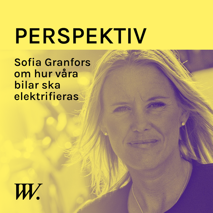 Episode image for 64. Elektrifieringen av fordonsparken - med Sofia Granfors