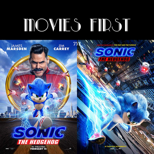 757: Sonic The Hedgehog (Action, Adventure, Family) (the @MoviesFirst review)